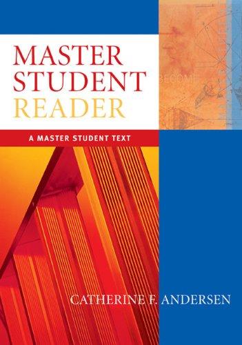 9780618606030: Master Student Reader