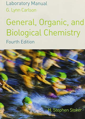 9780618606085: Lab Manual for Stoker's General, Organic, and Biological Chemistry, 4th