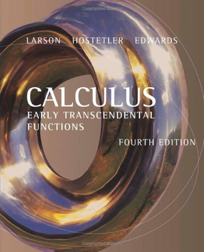 9780618606245: Calculus: Early Transcendental Functions