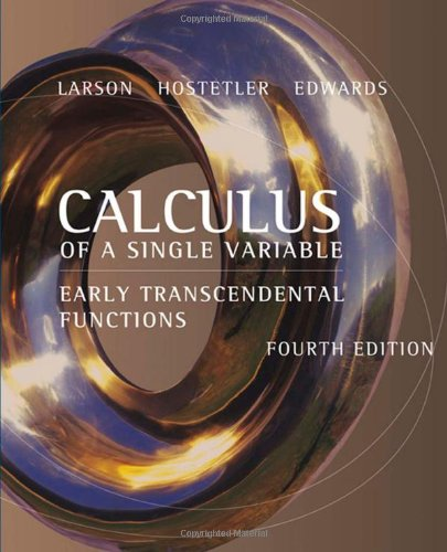 9780618606252: Calculus of a Single Variable: Early Transcendental Functions
