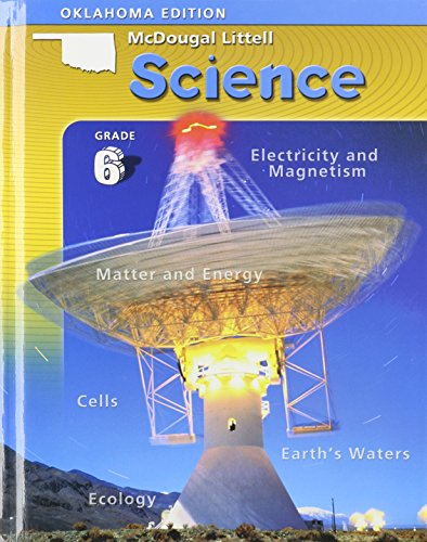 9780618606559: McDougal Littell Science Oklahoma: Student Edition Grade 6 Integrated Course 1, 2, 3 2006