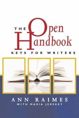 9780618607150: The Open Handbook: Keys for Writers