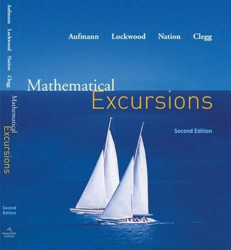 Mathematical Excursions: Joanne S. Lockwood;