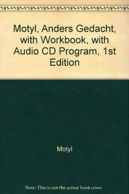 9780618609352: Motyl, Anders Gedacht, with Workbook, with Audio CD Program, 1st Edition (German Edition)