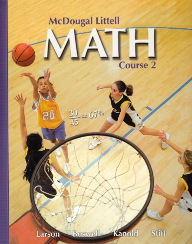 9780618610709: McDougal Littell Math Course 2: Student Edition 2007