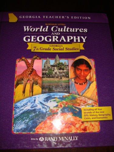 9780618610839: McDougal Littell World Cultures & Geography: Teacher Edition Grade 7 2006