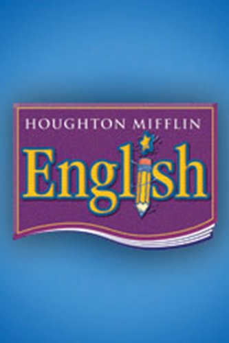 9780618611195: Houghton Mifflin English, Level 3, Student Edition