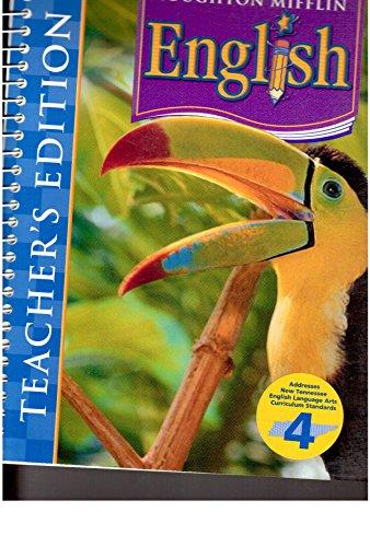 9780618611287: Houghton Mifflin English Grade 4, Teacher's Edition