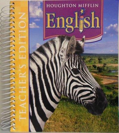 9780618611294: Houghton Mifflin English: Teacher's Edition Grade 5 2006