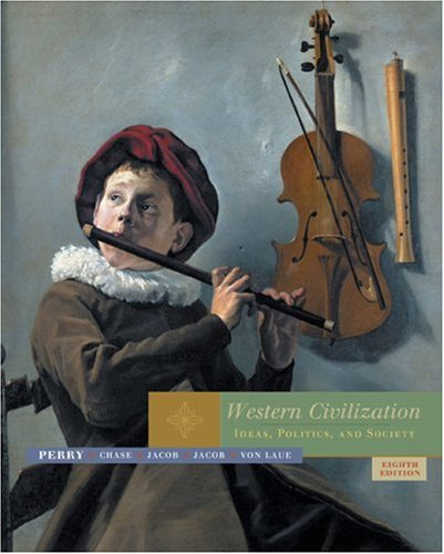 9780618613007: Western Civilization: Ideas, Politics, and Society