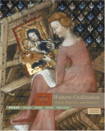 9780618613014: Western Civilization: Ideas, Politics, and Society, Volume 1: To 1789