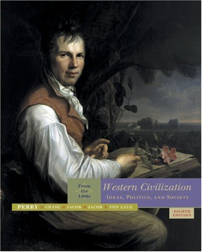9780618613038: Western Civilization: Ideas, Politics, and Society: From the 1400's