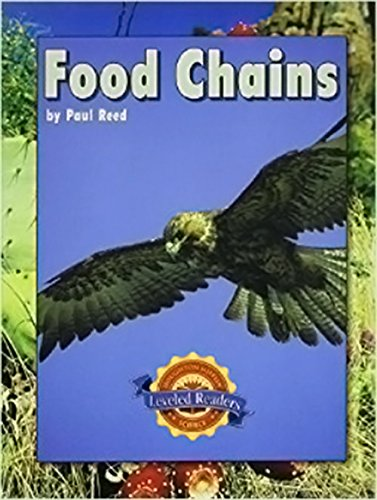 9780618613854: Houghton Mifflin Science Leveled Readers: Life Science: Leveled Readers 6pk, Below-Level Level O Food Chains