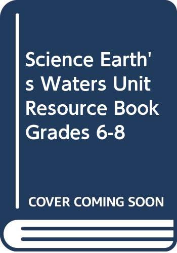 9780618615445: McDougal Littell Science: Earth Science: Unit Resource Book Earth?s Waters