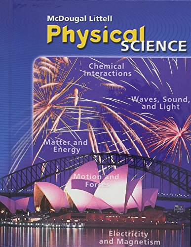 9780618615575: McDougal Littell Science: Student Edition Grade 8 Physical Science 2006