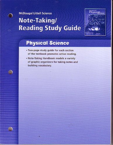 9780618615605 McDougal Littell Science Physical Science