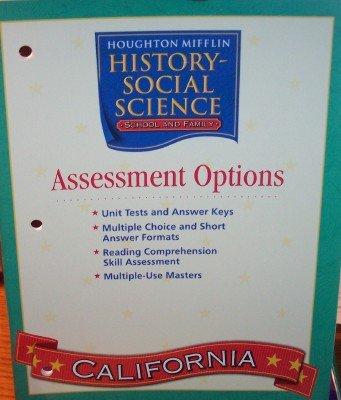9780618618262: Houghton Mifflin Social Studies California: Assessmnt Opt Blm&Tae L1