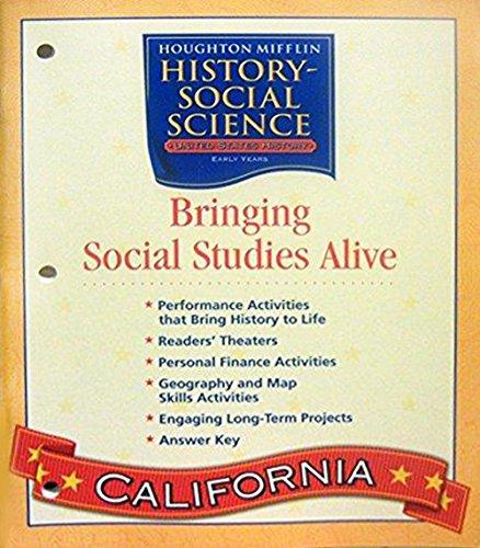 9780618618385: Bringing Social Studies Alive, Level 5 (Houghton Mifflin Social Studies)