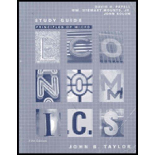 Study Guide for Taylor's Principles of Microeconomics,: John B. Taylor