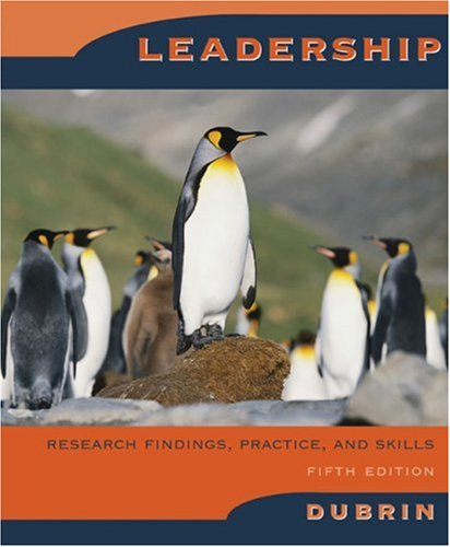 9780618623280: Leadership: Research Findings, Practice, and Skills