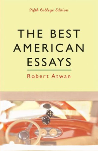 9780618623761: The Best American Essays