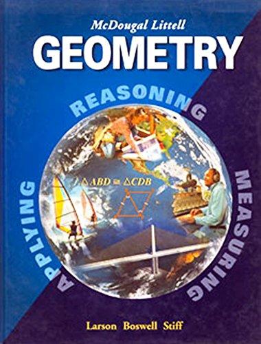9780618626168: McDougal Littell High School Math Arkansas: Lesson Plans Geometry
