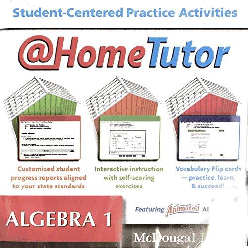 Holt McDougal Larson Algebra 1: At-Home Tutor CD-ROM: MCDOUGAL LITTEL