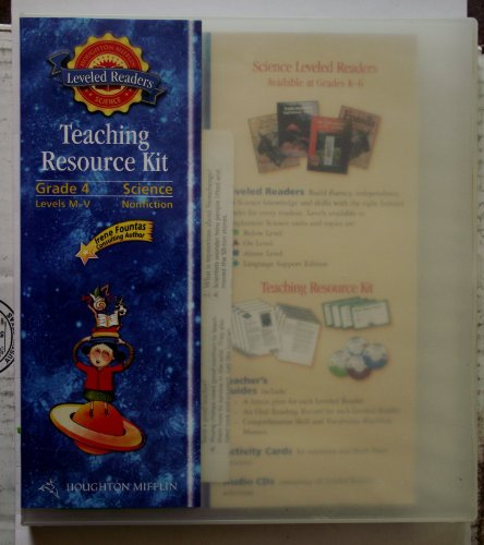 9780618628148: Science Leveled Readers California: Complete/Plus Teacher Resource Kit Grade 4