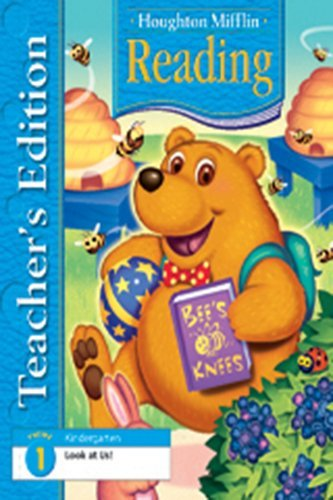 Houghton Mifflin Reading: Teacher's Edition Theme 1 Grade K 2006: MIFFLIN, HOUGHTON