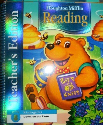 9780618628407: Houghton Mifflin Reading: Teacher's Edition Theme 8 Grade K 2006