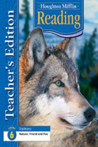 9780618628834: Houghton Mifflin Reading: Teacher's Edition Theme 6 Grade 4 2006