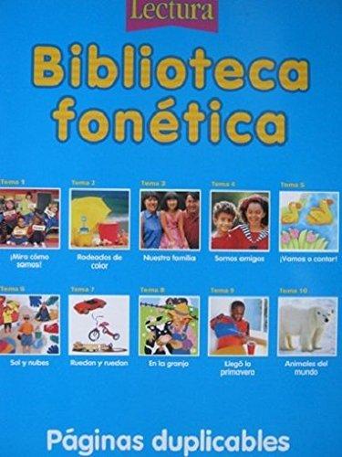 9780618630103: Reading Phonics Library, 5pk Level K: Houghton Mifflin Reading Spanish