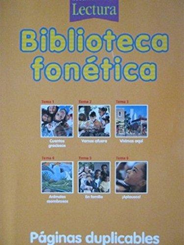 Lectura: Biblioteca fonà tica (6 stories) Grade: HOUGHTON MIFFLIN