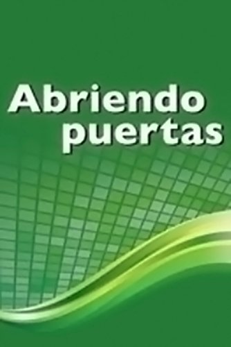 9780618633449: McDougal Littell Nextext: Abriendo Puertas Lenguaje Teacher's Resource Manual Grades 6-12