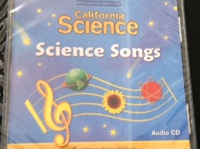 9780618634477: Houghton Mifflin Science: Science Songs Audio CD Grade 1