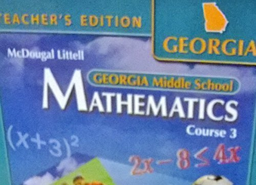 9780618638222: McDougal Littell Math Course 3: Teacher's Edition 2007