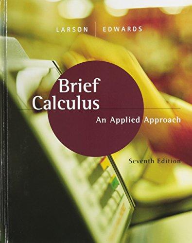 9780618638673: Brief Calculus: An Applied Approach