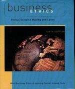 9780618639854: Business Ethics Ethical Decision Making and Cases