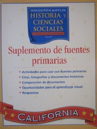 9780618640379: Houghton Mifflin Social Studies Spanish: Primary Sourc Plus L5 (Spanish Edition)