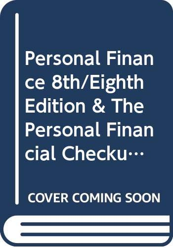 9780618640560: Personal Finance 8th/Eighth Edition & The Personal Financial Checkup (Custom Edition)