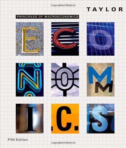 9780618640881: Principles of Macroeconomics
