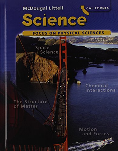 9780618640966: McDougal Littell Science: Focus on Physical Sciences