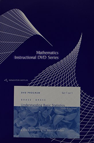9780618641987: Instructor Dvds: By Dana Mosely: Used with ...Brase-Understanding Basic Statistics; Brase-Understanding Basic Statistics