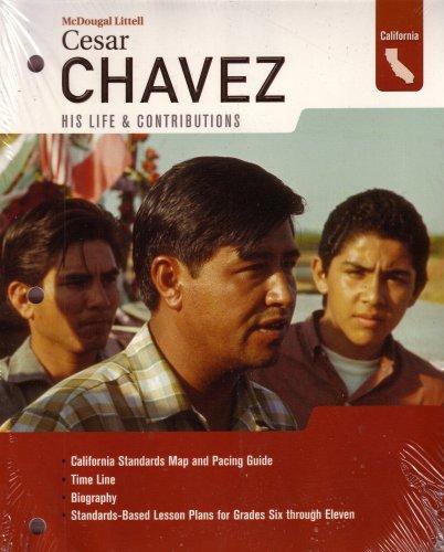 9780618642151: McDougal Littell World History: Hispanic History Poster And Chavez Biography Book Bundle Grades 6-8