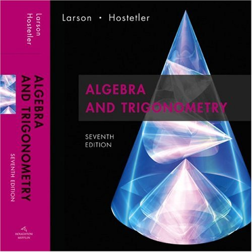 9780618643219: Algebra and Trigonometry, 7th Edition
