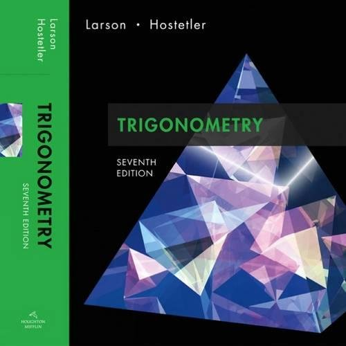 9780618643325: Trigonometry (Available 2010 Titles Enhanced Web Assign)
