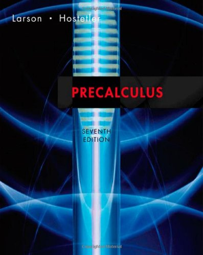 9780618643448: Precalculus, Seventh Edition