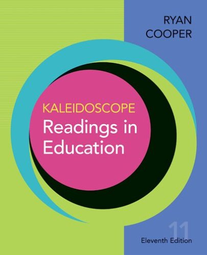 9780618643622: Kaleidoscope: Readings in Education