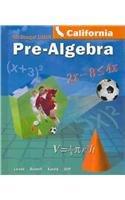 9780618645091: Pre-algebra - California Edition