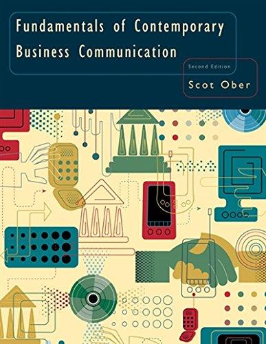 9780618645176: Fundamentals of Contemporary Business Communication